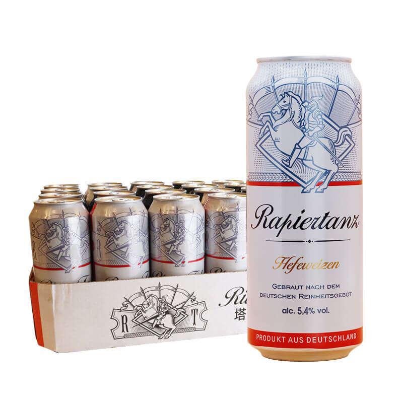 塔克騎士5.4度 白啤酒500ml*24聽
